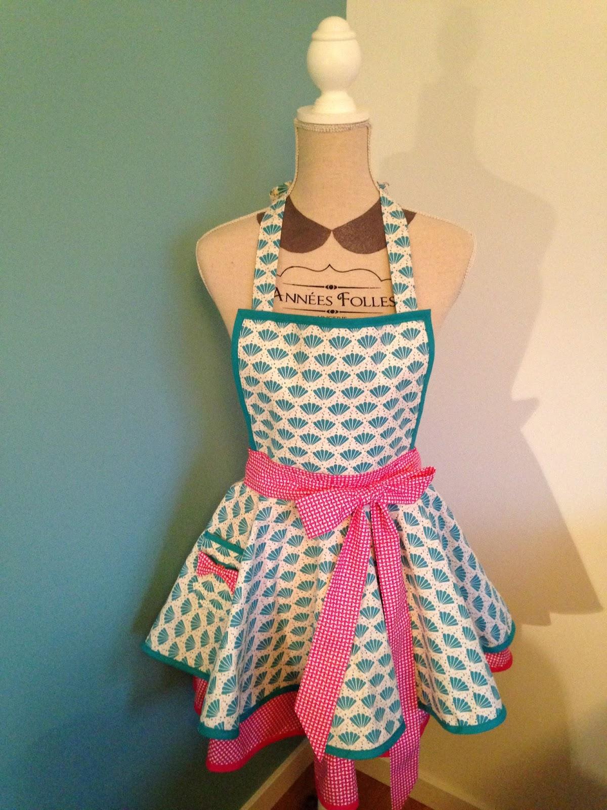 Anne-So s\'essaie à la couture...: Cooking dress - Tablier de ...