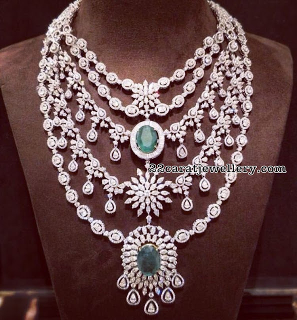 Three Step Diamond Long Set