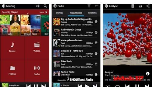 Aplikasi Musik Terbaik MixZing Music Player