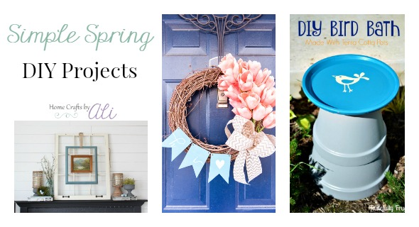 Easy to Make Spring Decor Projects