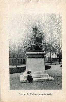 Photo de Moulins, Allier. statue de Théodore de Banville