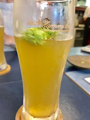 フレッシュホップの追いホップビール