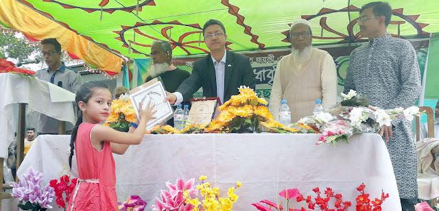 কানাইঘাটে হামিদা ফাউন্ডেশনের ২৫তম মেধাবৃত্তি প্রদান অনুষ্ঠান সম্পন্ন