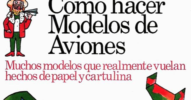 """AYUDA PARA MAESTROS: Libro Gratis """"Cómo Hacer Modelos De"""
