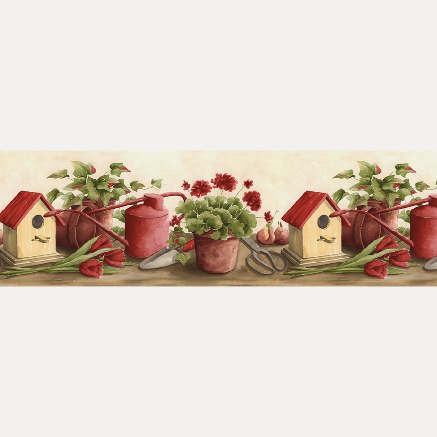 Kitchen Wallpaper Border: Scenery Wallpaper: Wallpaper Kitchen Borders