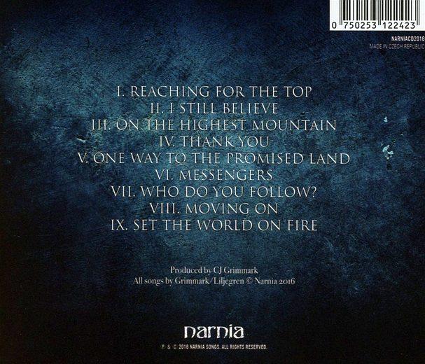 NARNIA - Narnia (2016) back
