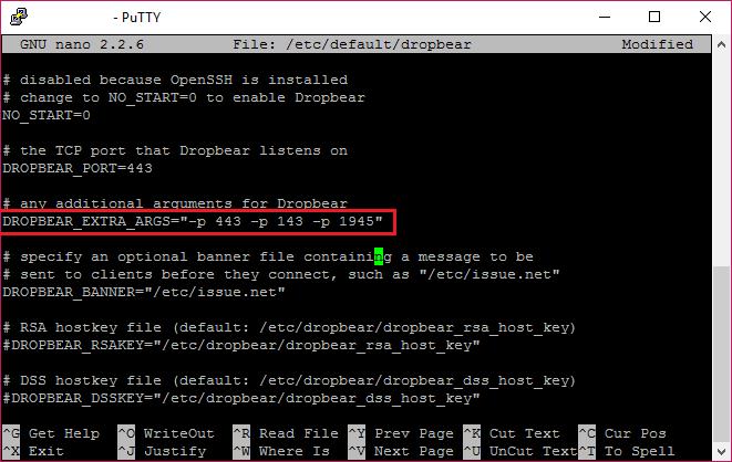 Menambah Port Dropbear di VPS Debian
