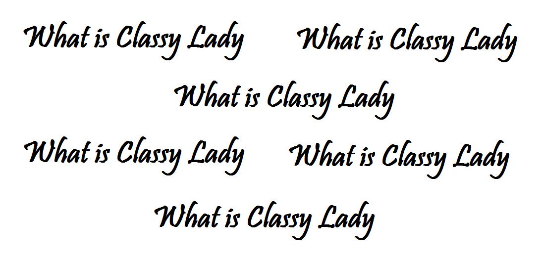 my lady definition