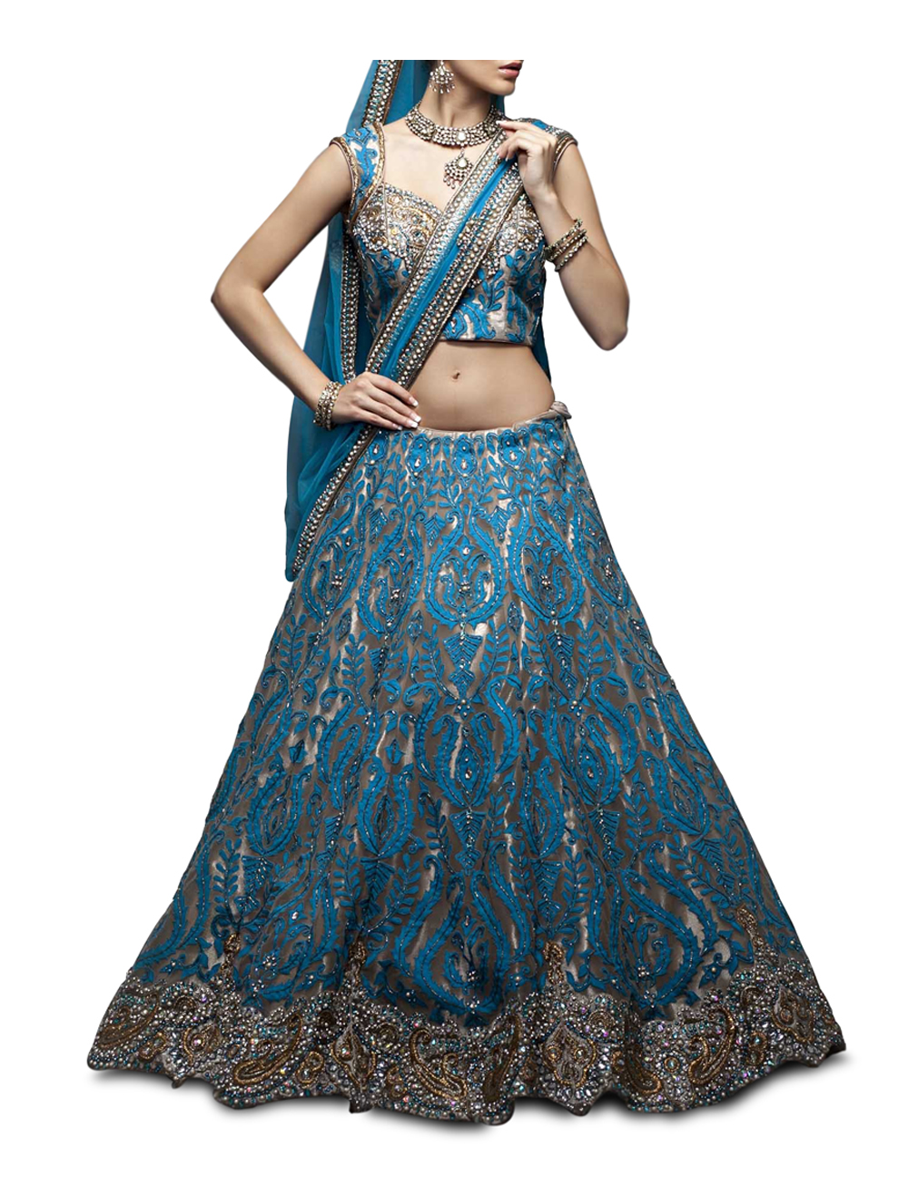 Elegant Indian Clothing & Wedding Outfits: Zarilane Announces Summer ...