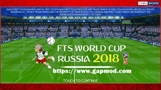 FTS World Cup Russia 2018 Mod by M Rafi Adz