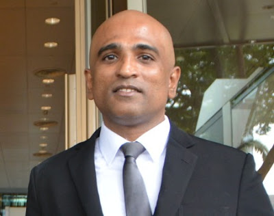 Singapore-based Human Rights, anti-Death Penalty lawyer M Ravi