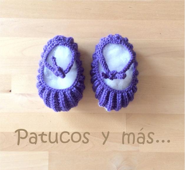Patucos y más ...: Los patucos de la bisabuela Pepa (patucos ...