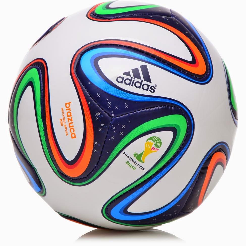 c0527e190cf4b Adidas Brazuca é a bola de futebol utilizada na Copa do Mundo FIFA de 2014
