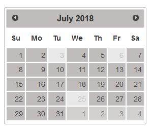 PHP Kishan Kachhadiya: How to Disable Date on Month Change