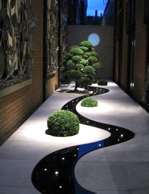 El jard n zen for Modelos de jardines interiores