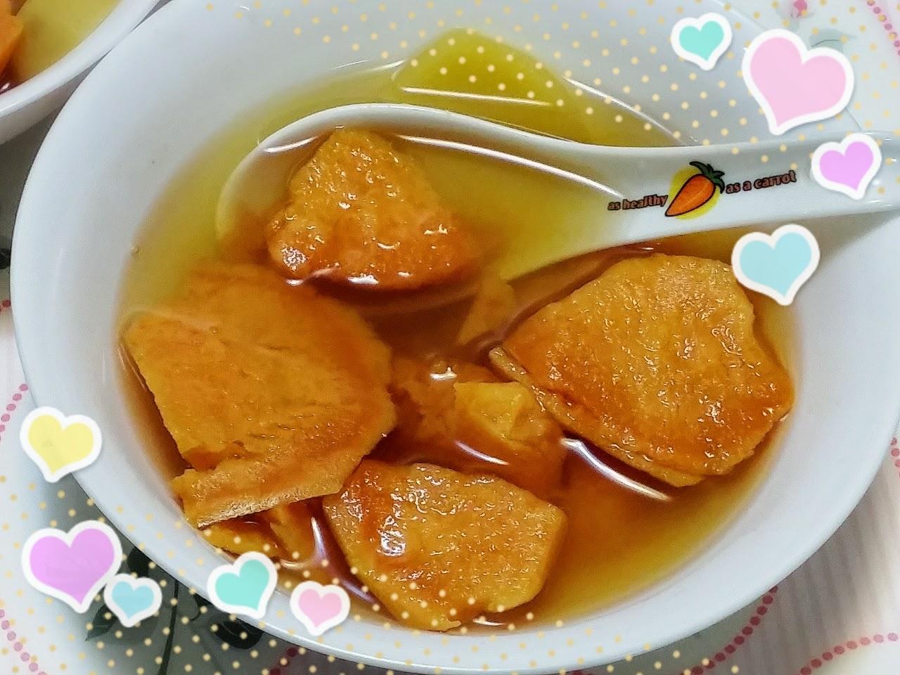 Money EE Kitchen: 薑汁蕃薯糖水 (附食譜)