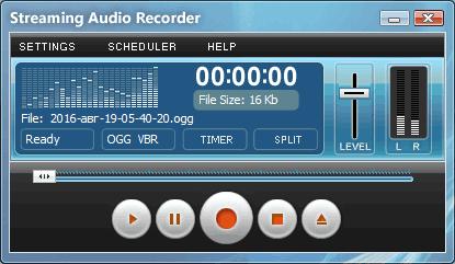 تحميل برنامج تسجيل الصوت Streaming Audio Recorder
