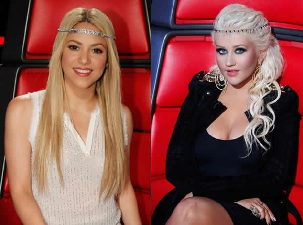 Altura Christina Aguilera o Shakira