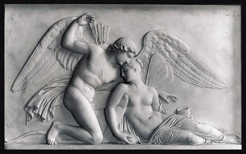 Cupido revive a Psique