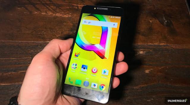 MWC 2017 - Alcatel A5 LED: a smartphone nightclub to 199 €