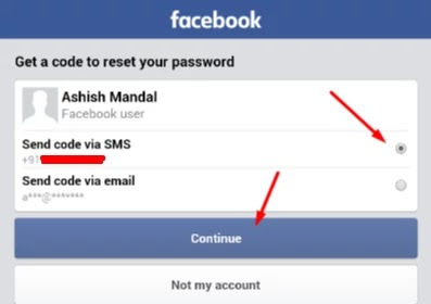 facebook password torna hai