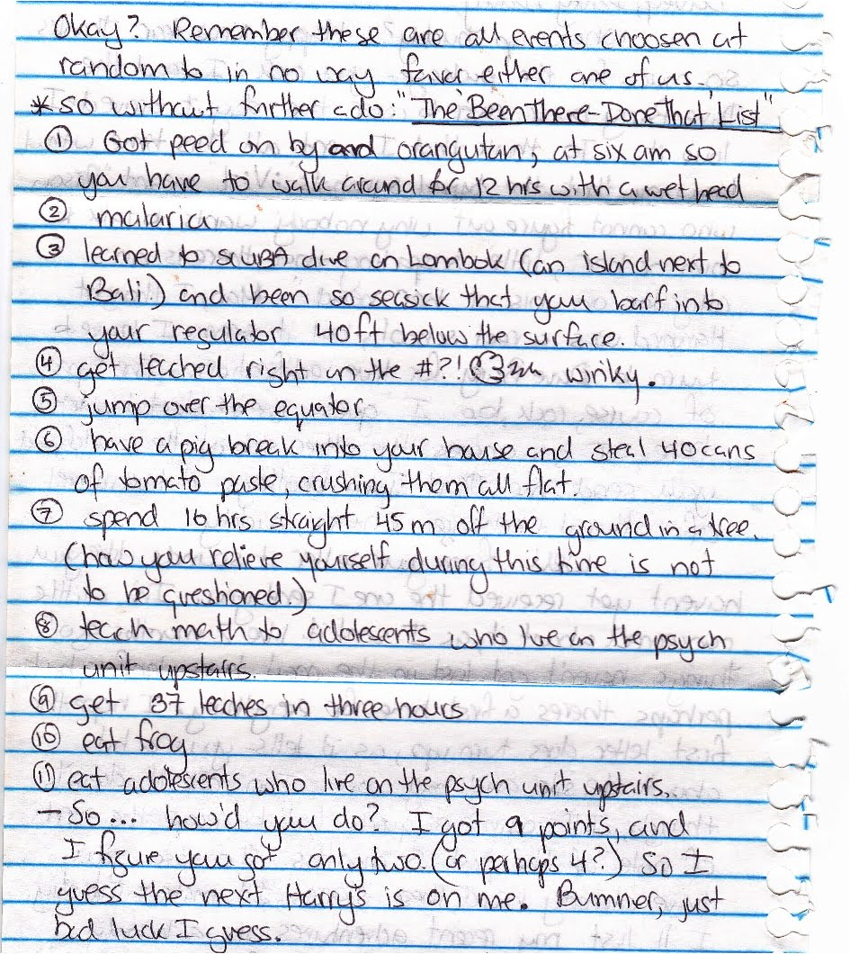 My Life Scanned Letter from My Friend Andy 2 2 97