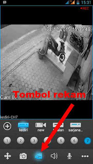 rekam video cctv android
