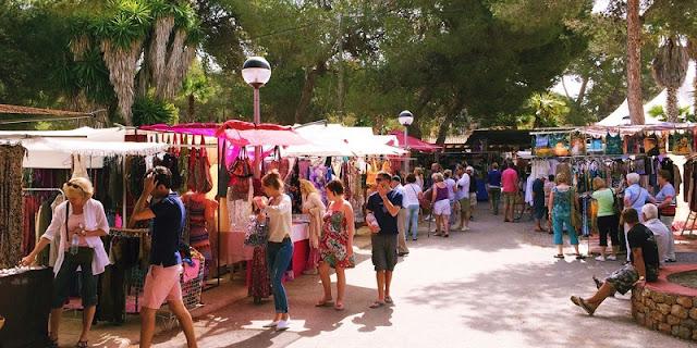 Mercado Es Canar em Ibiza
