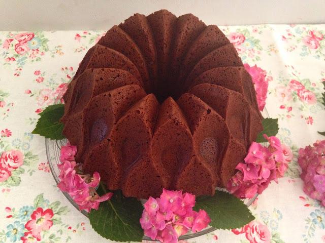 bundt cake de nutella