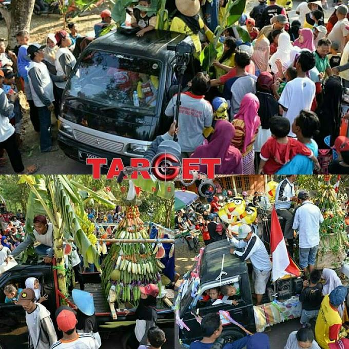 Semarak Karnaval Iringi Kemeriahan Dalam Rangkaian Acara Bersih Desa Angkatan Kidul