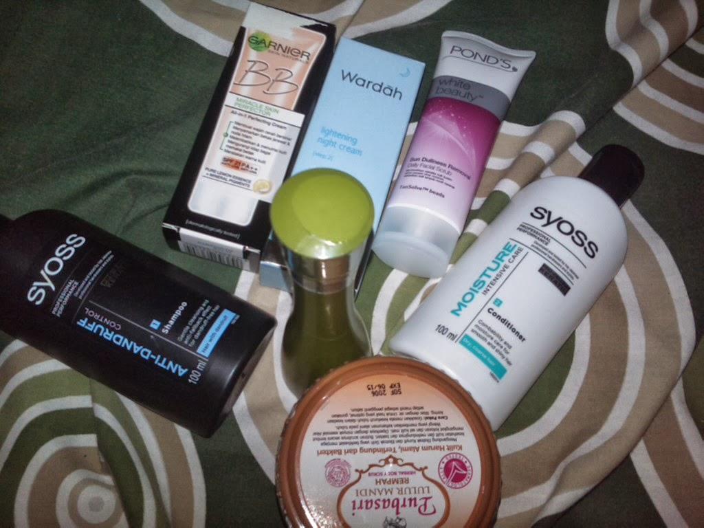 beauty haul bulan oktober | Sucijewels