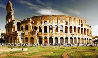 Gambar Colosseum, Roma, Italia