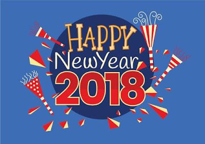 thiệp năm mới 2018