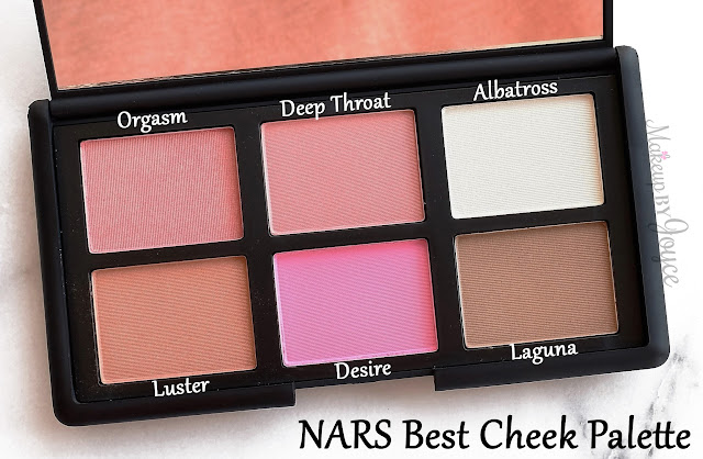 NARS Nordstrom's Best Cheek Blush Palette 2016 Limited Edition Review