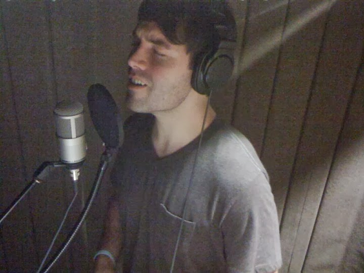 Jason Chatham - Between Wind and Water (2014) recording in studio