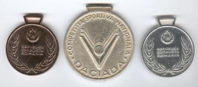 medalii, medalie, medalie daciada