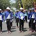 Gerak Jalan HUT RI Tahun 2017 Kota Pasuruan