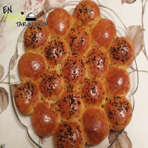 Çiçek Ekmek Tarifi Peynirli
