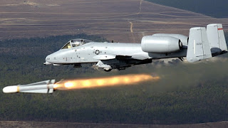 A-10 Thunderbolt  -  Pesawat Tempur Close Air Support