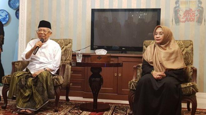Usai Pemilu 2019, Ma'ruf Amin: Cebong dan Kampret Kita Kubur Aja