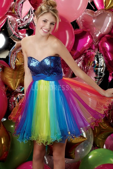 960065f51c7 Darcy Emma  Style Guide  How to wear multi-colored prom dress