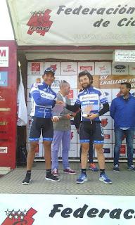 Leangel y Gonzalo en GP Colmenar del Arroyo 2017