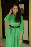 Geethanjali in Green Dress at Mixture Potlam Movie Pressmeet March 2017 051.JPG