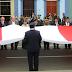 HONORES A LOS SÍMBOLOS PATRIOS Y ENTREGA DE PALMERAS DE ORO EN EL ANIVERSARIO NACIONAL