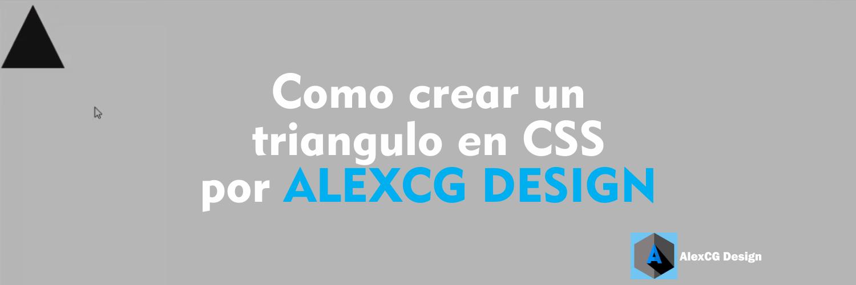 Como-crear-un-triangulo-en-CSS-por-ALEXCG-DESIGN