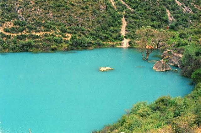 Ouzbékistan, Chakhimardan, Kok-Kul, lac Bleu, © Louis Gigout, 1999