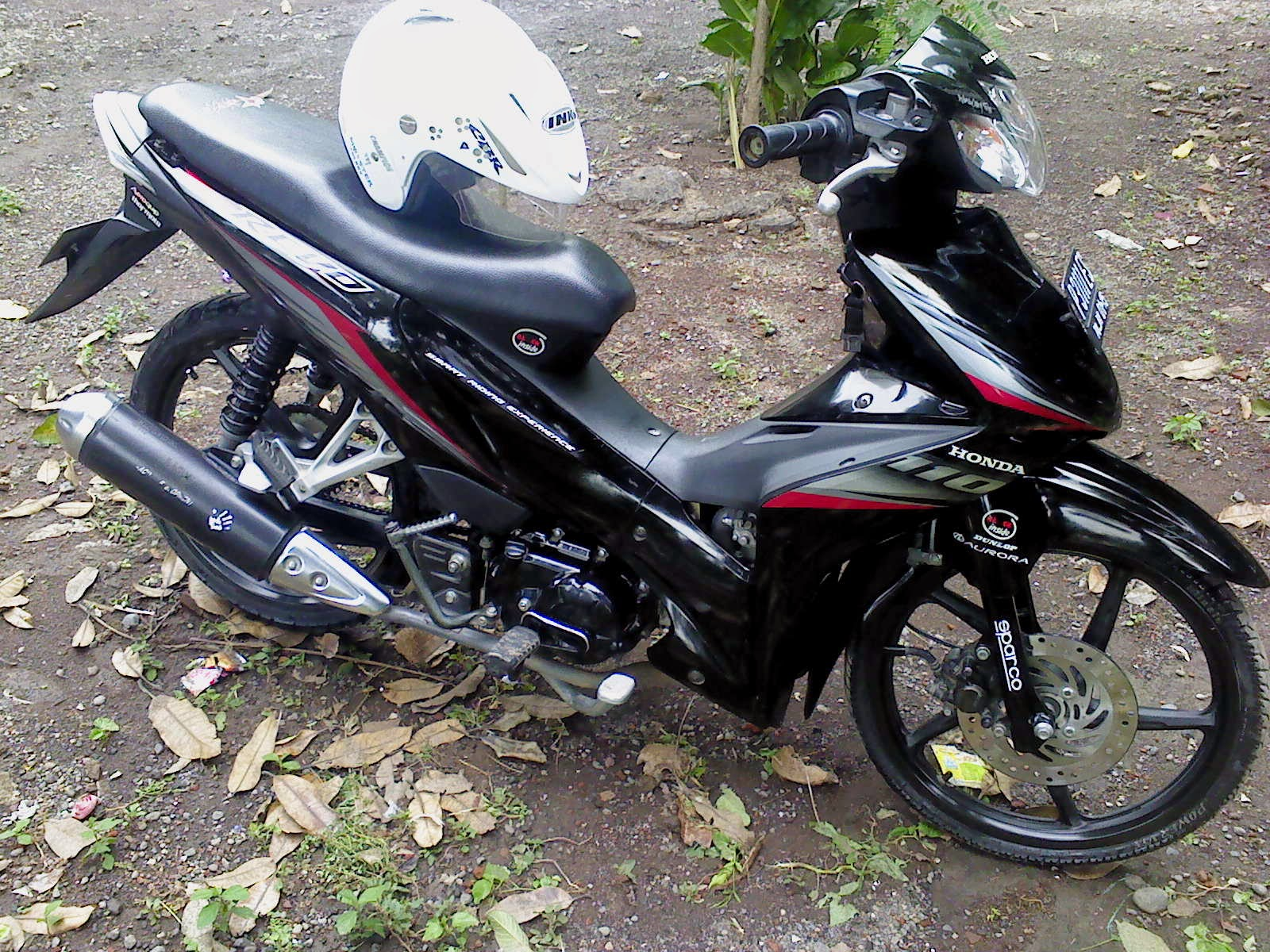 Top Modifikasi Motor Revo Terbaru