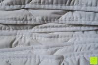 Verarbeitung: MELIANDA MA-11010 Microfaser Wildseide Sommersteppbett 135x200 cm kochfest / trocknergeeignet ideal für warme und heiße Sommernächte