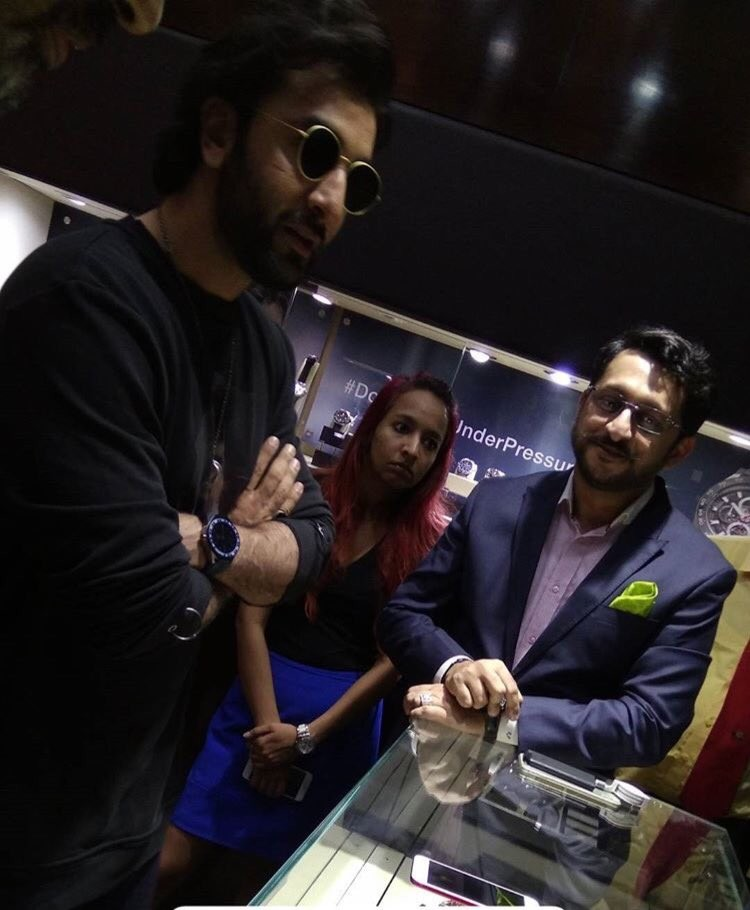 Ranbir Kapoor Launches TAG Heuer's Latest Collection