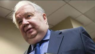 El embajador ruso en Washington, Sergei Kislyak.